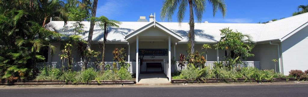 Plantations Restaurant Entrance